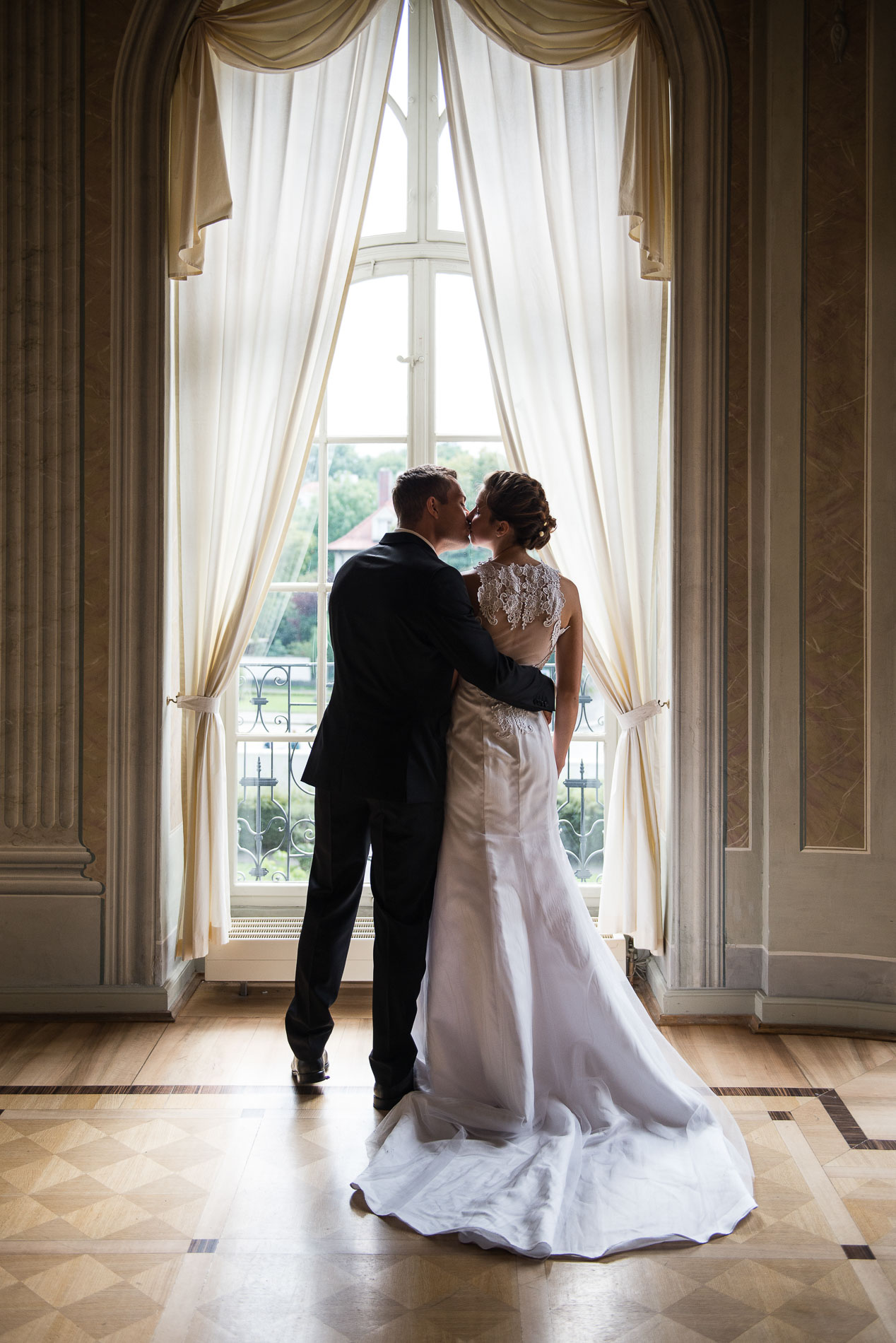 Hochzeitsfotos Gohliser Schlösschen Leipzig: Michelle & Roman