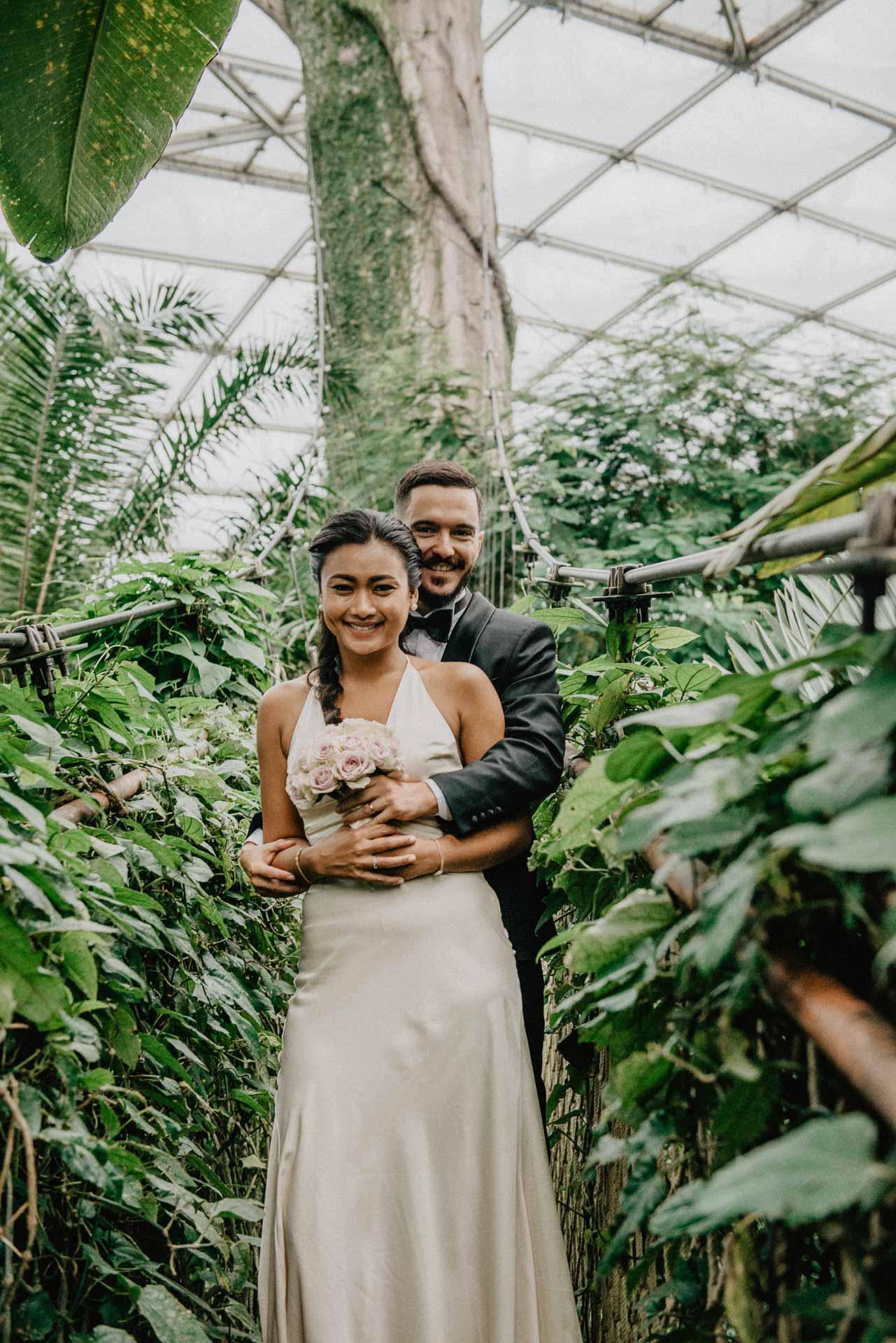 zweinander Hochzeitsfotos Zoo Leipzig von Fah & Eric
